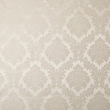 Buy John Lewis Alto Damask Curtain, Silver Online at johnlewis.com