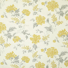 Buy John Lewis Abberley Curtain, Yellow, Was £22.00 per metre, Now £11.00 per metre Online at johnlewis.com