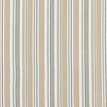 Buy John Lewis Casini Stripe Curtain, Duck Egg Online at johnlewis.com