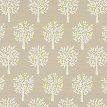 Buy John Lewis Elmore Curtain, Yellow Online at johnlewis.com