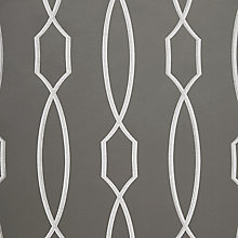 Buy John Lewis Hayden Curtain, Steel Online at johnlewis.com