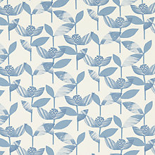 Buy John Lewis Florien Curtain, Nordic Blue Online at johnlewis.com