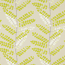 Buy John Lewis Malin Curtain, Fennel Online at johnlewis.com