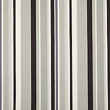 Buy John Lewis Kaplan Stripe Curtain, Charcoal Online at johnlewis.com