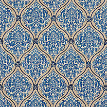 Buy John Lewis Montellano Fabric, Blue Online at johnlewis.com