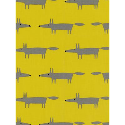 Scion Mr Fox Mini PVC Tablecloth Fabric