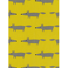 Buy Scion Mr Fox Mini PVC Tablecloth Fabric Online at johnlewis.com