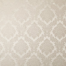 Buy John Lews Alto Damask Furnishing Fabric, Silver Online at johnlewis.com
