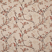Buy John Lewis Blossom Weave Furnishing Fabric, Russet Online at johnlewis.com