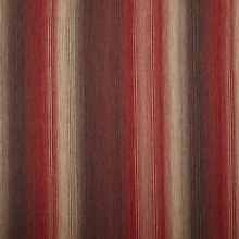 Buy John Lewis Horizon Stripe Furnishing Fabric, Red Online at johnlewis.com