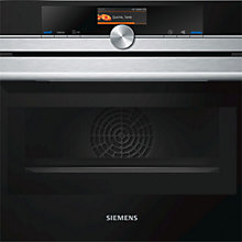 Buy Siemens CM656GBS1B Built-in Combination Microwave Oven, Stainless Steel / Black Online at johnlewis.com