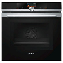 Buy Siemens HM656GNS1B Built-In Single Electric Oven with Microwave, Stainless Steel Online at johnlewis.com