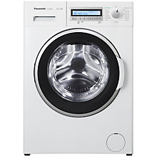 Buy Panasonic NA-148VB5W Freestanding Washing Machine, 8kg Load, A+++ Energy Rating, 1400rpm Spin, White Online at johnlewis.com