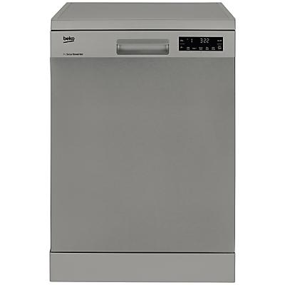 Beko DFN28J20X Freestanding Dishwasher, Stainless Steel