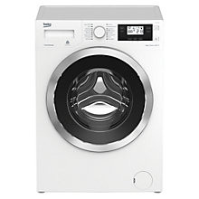 Buy Beko WJ837543W Freestanding Washing Machine, 8kg Load, A+++ Energy Rating, 1300rpm Spin, White Online at johnlewis.com