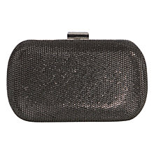 Buy Karen Millen Glitter Box Clutch Bag Online at johnlewis.com