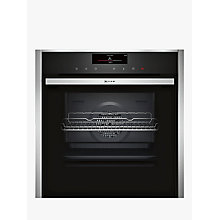Buy Neff B58VT68N0B VarioSteam® Pyrolytic Slide and Hide Single Electric Oven, Stainless Steel Online at johnlewis.com