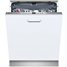 Buy Neff S51L58X2GB Integrated Dishwasher, Stainless Steel Online at johnlewis.com