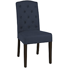 Buy Neptune Sheldrake Upholstered Dining Chair, Brancaster Navy Linen Online at johnlewis.com