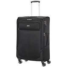 Buy Samsonite Ultracore 4-Wheel 78cm Extra Large Suitcase, Black Online at johnlewis.com