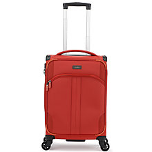 Buy Antler Aire 4-Wheel 55cm C1 Cabin Suitcase, Tomato Online at johnlewis.com