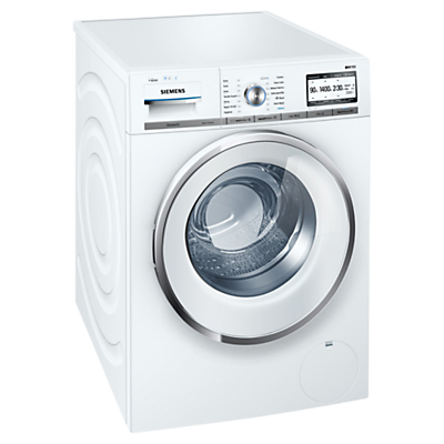 Image of Siemens WM14Y892GB Freestanding Washing Machine, 9kg Load, A+++ Energy Rating, 1400rpm Spin, White