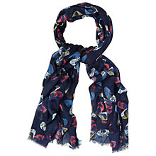 Buy White Stuff Butterfly Printed Scarf, Multi Online at johnlewis.com