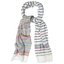 Buy White Stuff Aztec Jacquard Scarf, Multi Online at johnlewis.com