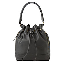 Buy Mango Leather Bucket Bag Online at johnlewis.com