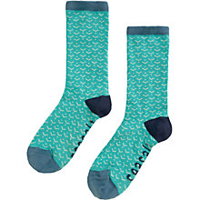 Buy Seasalt Sailor Arrow Scandi Ankle Socks, Aqua/Sea Green Online at johnlewis.com