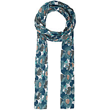 Buy Seasalt  Everyday Headland Floral Scarf, Green Online at johnlewis.com
