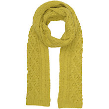 Buy Seasalt Expedition Seedling Scarf, Mustard Online at johnlewis.com