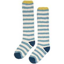 Buy Seasalt Long Fluffies Stripe Knee High Socks Online at johnlewis.com