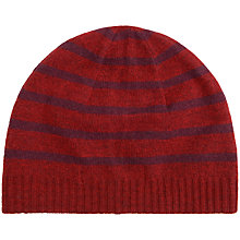 Buy Seasalt Leaze Reversible Cashmere Beanie Hat, Cinnabar Online at johnlewis.com