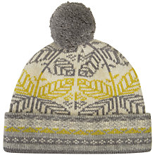 Buy Seasalt Roselyn Leaf Aran Beanie Hat, Multi Online at johnlewis.com