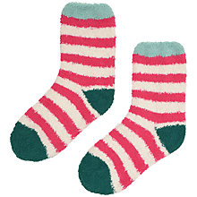 Buy Seasalt Fluffies Stripe Ankle Socks, Pack of 1 Online at johnlewis.com
