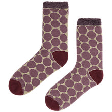Buy Seasalt Cabin Circle Heath Ankle Socks, Purple Online at johnlewis.com