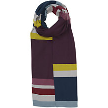 Buy Seasalt Linnet Stripe Shawl, Multi Online at johnlewis.com