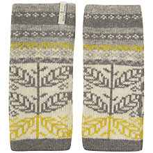 Buy Seasalt Roselyn Leaf Aran Mittens, One Size, Multi Online at johnlewis.com