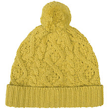 Buy Seasalt Expedition Seedling Beanie Hat, Mustard Online at johnlewis.com