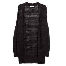 Buy Mango Metallic Finish Cardigan Online at johnlewis.com