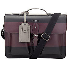 Buy Ted Baker Leather Satchel Bag Online at johnlewis.com