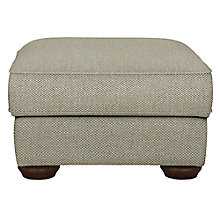 Buy John Lewis Madison Footstool, Evora Mocha Online at johnlewis.com