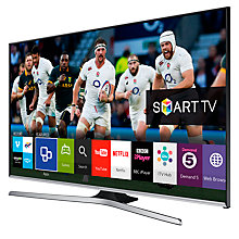 "Buy Samsung UE43J5500 LED HD 1080p Smart TV, 43"" with Freeview HD and Built-In Wi-Fi with HW-J550 Wireless Soundbar Online at johnlewis.com"