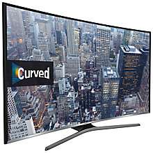"Buy Samsung UE55J6300 Curved LED HD 1080p Smart TV, 55"" with Freeview HD and Built-In Wi-Fi Online at johnlewis.com"