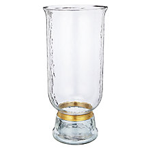 Buy John Lewis Dimpled Glass Large Hurricane Lamp Online at johnlewis.com