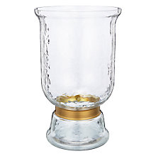 Buy John Lewis Dimpled Glass Small Hurricane Lamp Online at johnlewis.com