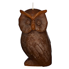 Buy John Lewis Owl Candle Online at johnlewis.com