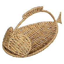 Buy John Lewis Water Hyacinth Fish Basket Online at johnlewis.com