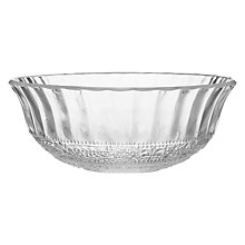 Buy Decoris Pressed Pattern Glass Bowl Online at johnlewis.com